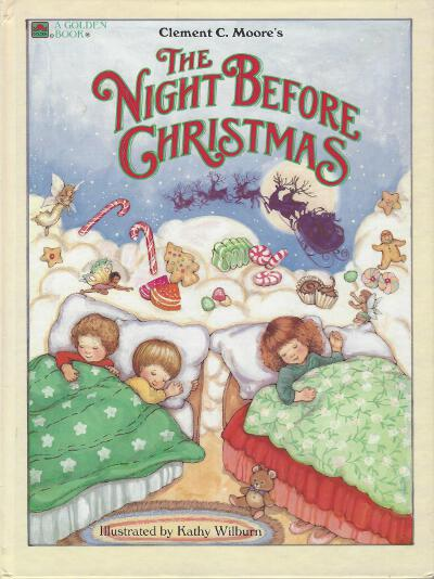 Big Golden Book Night Before Christmas front cover