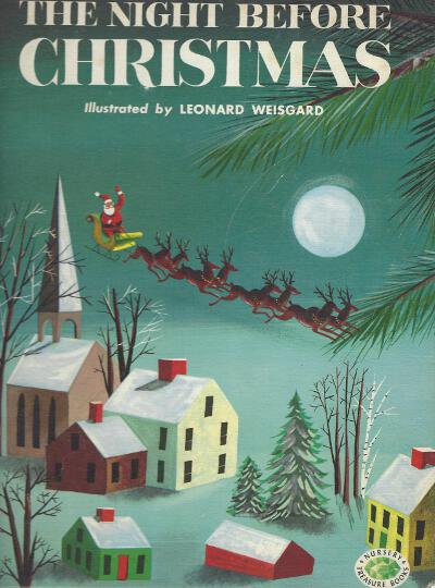 Leonard Weisgard Night Before Christmas front cover