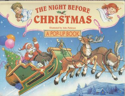 Peter Haddock Limited Night Before Christmas front cover