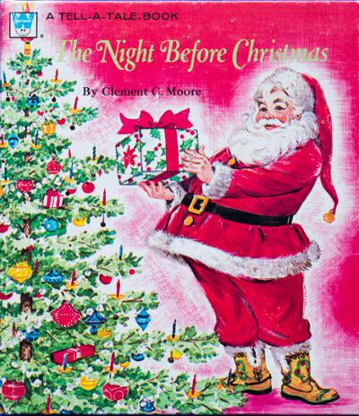 Tell-a-Tale Night Before Christmas front cover